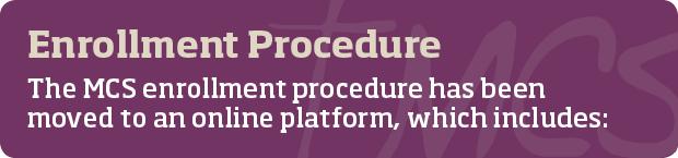 MCS-Enrollment-Procedures