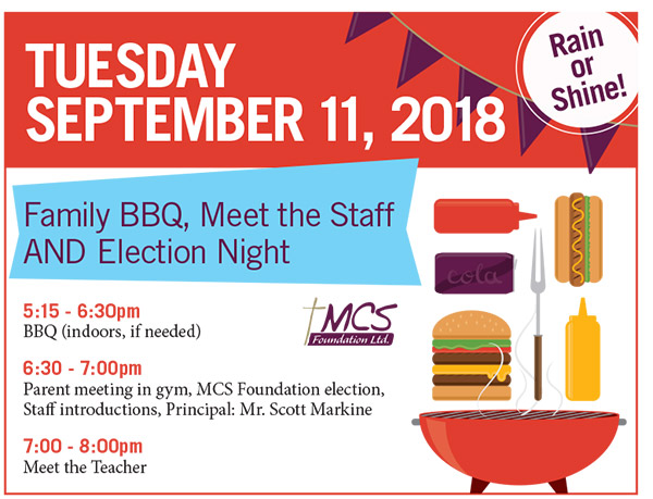 Family BBQ, Meet the Staff and Election Night